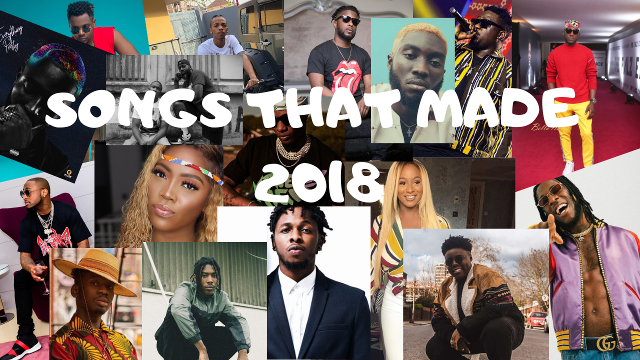 TAKING A LOOK BACK AT 2018 WITH MUSIC