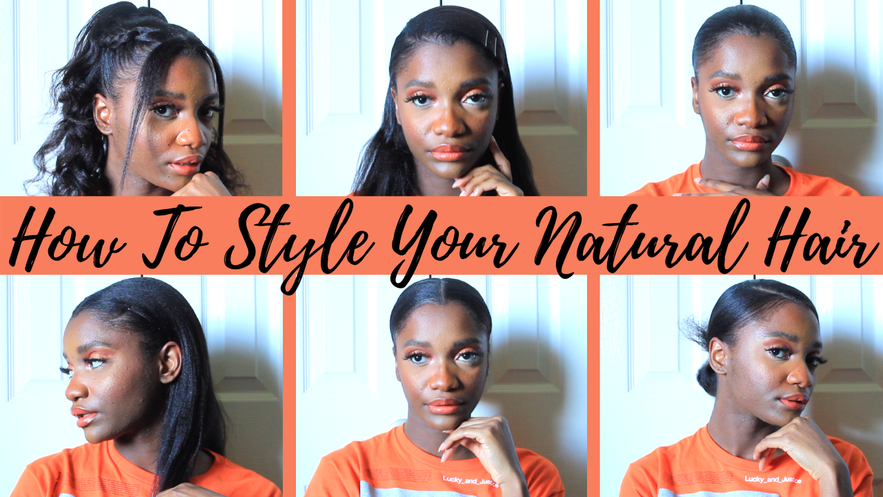 6 Hairstyles For Natural Relaxed Hair